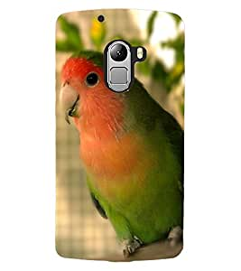 ColourCraft Cute Parrot Design Back Case Cover for LENOVO VIBE K4 NOTE