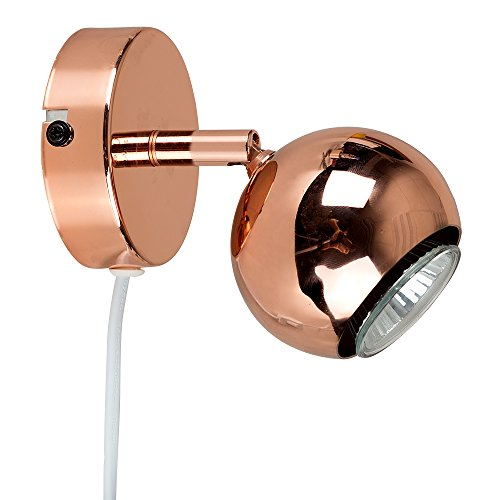 modern-copper-effect-single-adjustable-arco-eyeball-ceiling-wall-spotlight-with-practical-plug-cable