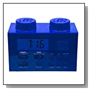 LEGO Alarm Clock Radio - Blue