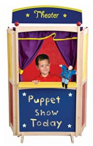 Floor Puppet Theater from Guidecraft