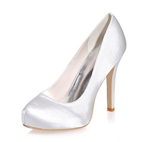CBIN&HUA Matrimonio scarpe tacchi sandali da donne sposa più colori disponibili , ivory , 38