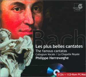 Les Plus Belles Cantates Bwv 21,42,56,78,82,158 ; Trauerode
