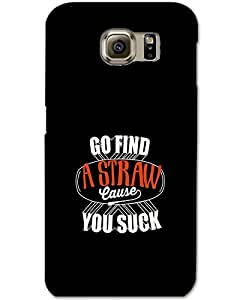 Samsung Galaxy S6 Edge Back Cover Designer Hard Case Printed Cover