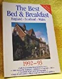 img - for Best Bed and Breakfast in England, Scotland and Wales, 1991-93: The Finest Bed and Breakfast Accommodations in the British Isles from the Scottish Heb (Best Bed & Breakfast: England, Scotland, Wales) book / textbook / text book