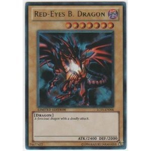 Ultra Rare Yu-Gi-Oh! - Red-Eyes B. Dragon (LC01-EN006) - Legendary Collection - Limited Edition -