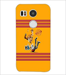 PrintDhaba Funny Image D-5883 Back Case Cover for LG NEXUS 5X (Multi-Coloured)