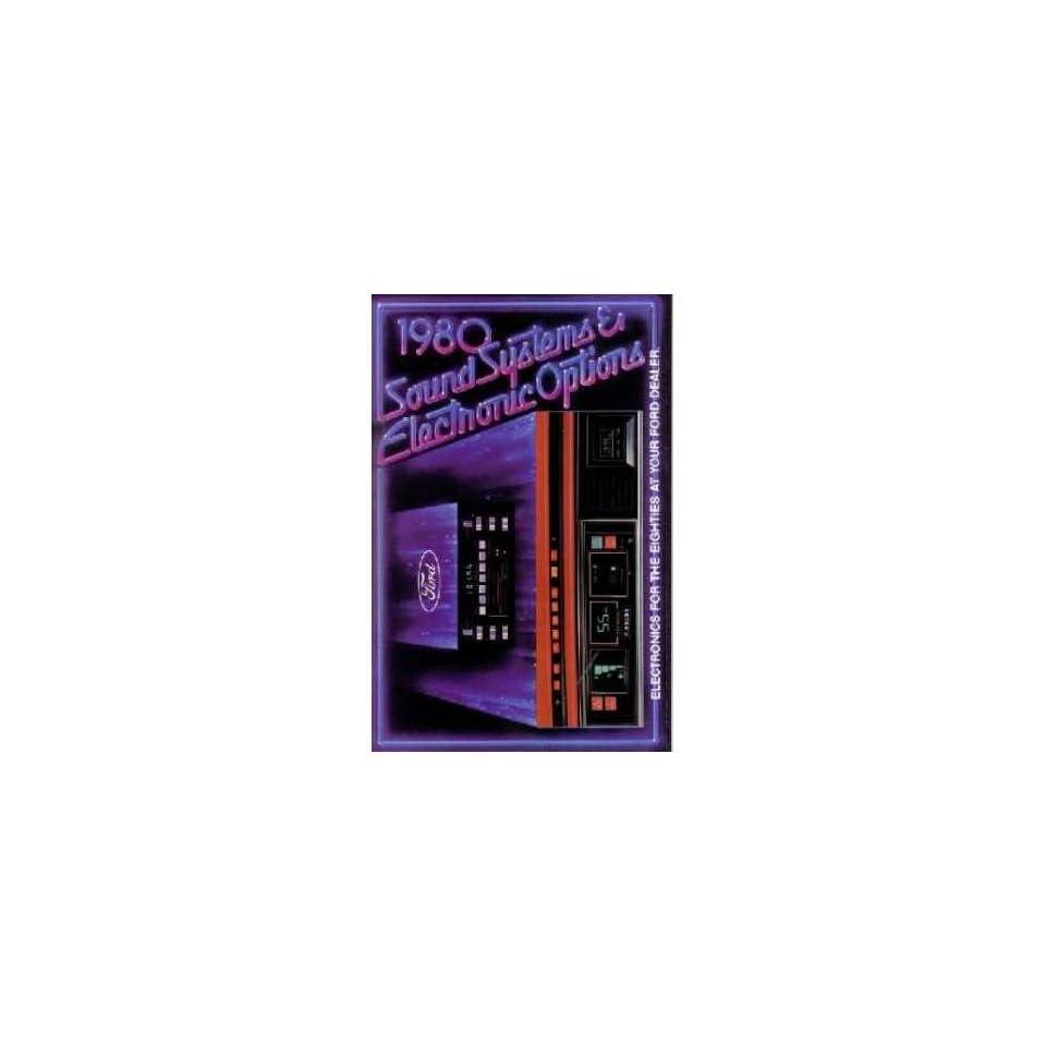 1980 Ford Sales Brochure Literature Book Piece Dealer Advertisement