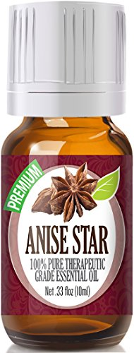 Anise Star 100% Pure, Best Therapeutic Grade Essential Oil - 10ml