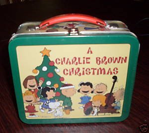 School days lunch box peanuts charlie brown christmas toys amp games