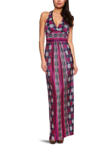 Fever Rio Women's Maxi Dress Navy 12