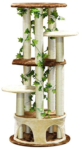 Go Pet Club F2093  Cat Tree Furniture, 61-Inch