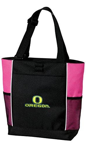University Of Oregon Neon Pink Tote Bag Uo Ducks Hot Colors