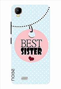 Best Sister-Skyblue Printed Cover for Intex Aqua Speed