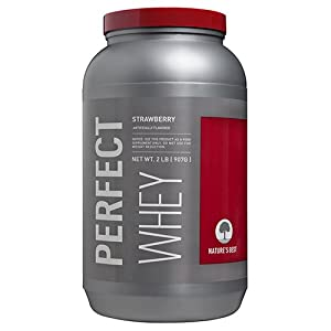 Nature's Best Perfect Whey Protein, Strawberry, 2-Pound Container