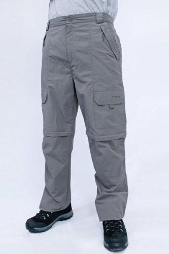 Men's Terrain Trousers - Colour Grey Size 38