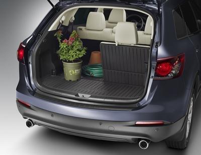 MAZDA CX-9 2007-2012 NEW OEM CARGO MAT 5 PIECE SET (Mazda Cx9 Accessories 2011 compare prices)