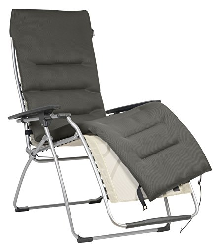Lafuma LFM 2604-7806 Spare Air Comfort Trim Relax Chair Taupe 171 x 49,5 x 4,5 cm