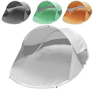 Jago WFZT01Silver Gray Tenda parasole campeggio da spiaggia pop up argento grigio   cliente recensione Voto