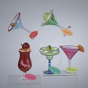 Amazon.com - Happy Hour Red Glass Strawberry Daquiri ...