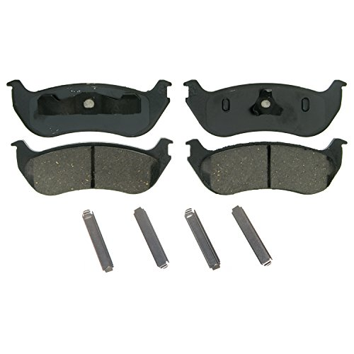 Wagner QuickStop ZD881 Ceramic Disc Pad Set, Rear (Wagner Brake Pads And Rotors compare prices)