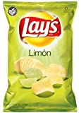 Lay's Limon Flavored Potato Chips, 2.875oz Bags (Pack of 20)