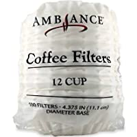 Ambiance Coffee Filters 12 Cup - 500 Filters