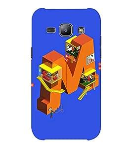 EPICCASE Complex M Mobile Back Case Cover For Samsung J1 Ace (Designer Case)
