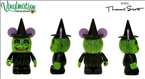 "Vinylmation Holiday 3 Series 3"" Figure - Witch - 1"