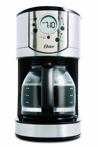 Oster Stainless Steel 12-Cup Programmable Coffee Maker > IJS Coffee & Espresso