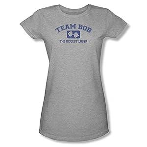 The Biggest Loser Team Bob Ladies Junior Fit T-Shirt