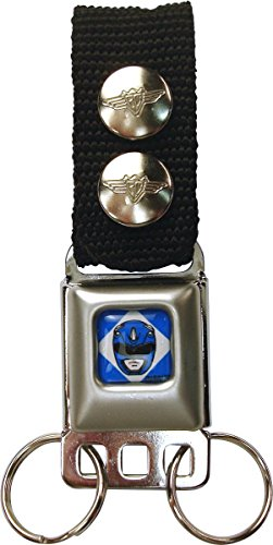 Power Rangers Blue Ranger Buckle Keychain