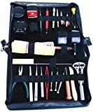 Executive Watch Repair Tool Kit Change Watch Band Link Pin Remover Toolkit Sizing Bracelet Adjustments Tools Zipper Case