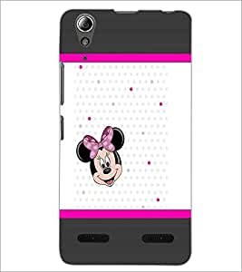 PrintDhaba Minnie Mouse D-1364 Back Case Cover for LENOVO A6000 (Multi-Coloured)