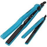 Ceramic Straightener, 1/2 Inch And 1 Inch, Teal