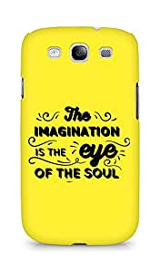 Amez The Imagination is the Eye of the Soul Back Cover For Samsung Galaxy S3 Neo