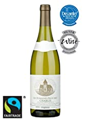 Fairtrade Les Domaines Brocard Organic Chablis 2010 - Case of 6