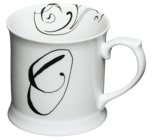Rosanna Initially Yours Mug Letter O
