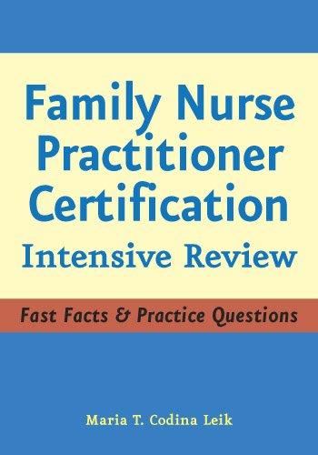 MSN, APRN, BC, FNP-C  Maria T. Codina Leik - Family Nurse Practitioner Certification