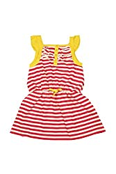 Allen Solly Junior Girls Dress (AKGTS315020_Red_11 - 12 years)