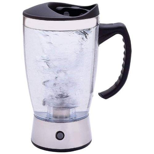 Stainless Steel Blender with Tornado Action Portable Mixer