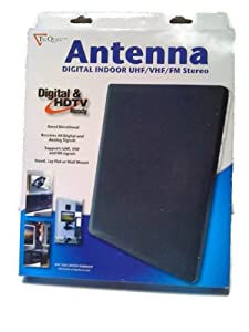 TriQuest Antenna - Digital Indoor UHF/VHF/FM Stereo -Digital and HDTV Ready