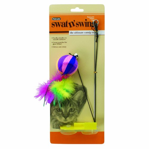 Petmate Swat N Swing, Yarn Ball Interactive Cat Toy