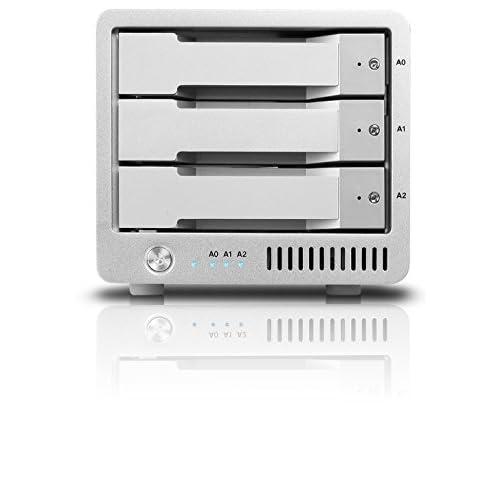 【直営店+保証5年】CalDigit T3R-3TB ★RAID5対応にバージョンアップ