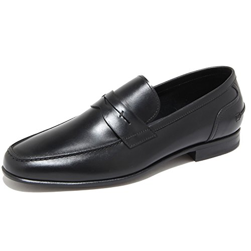 9690I mocassini uomo neri J. HOLBENS scarpe loafers shoes men [7]