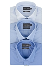 3 Pack Easy Care Short Sleeve Shirts