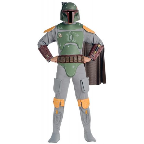 Deluxe Boba Fett Costume - X-Large - Chest Size 44-46