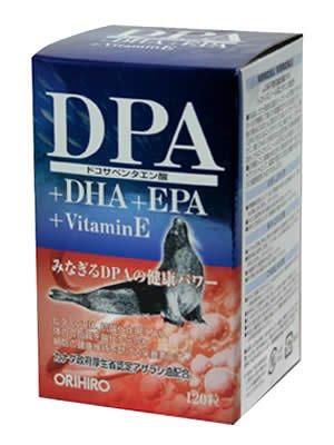 オリヒロ DPA+EPAカプセル 120粒