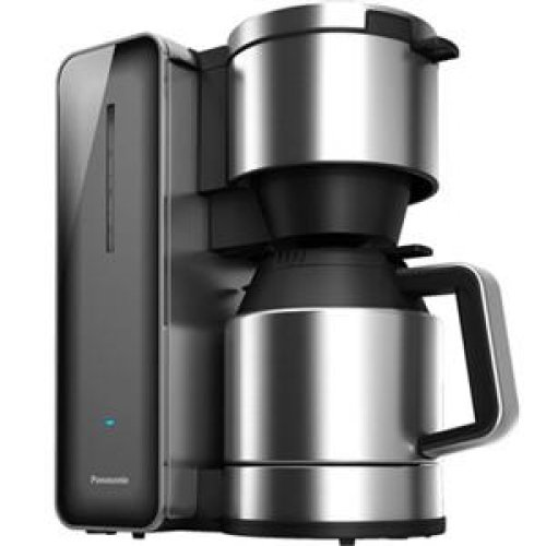 PANASONIC #NC-ZF1H 8-cup Coffee Pot with Smoke finish