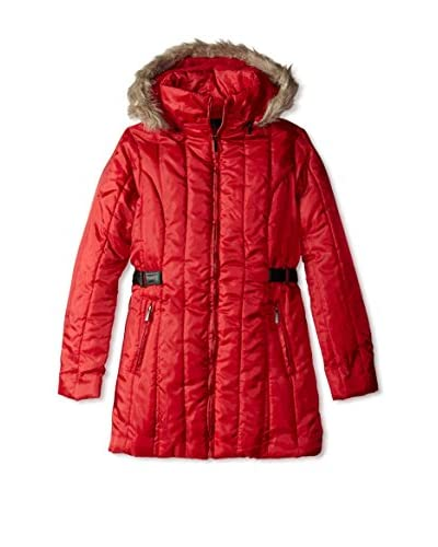 Yoki Women's Long Hooded Jacket  [Camel]