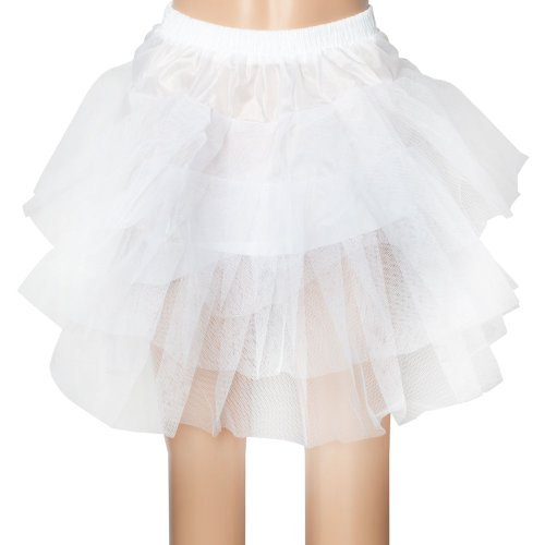 3 Layer 3 Layer Wedding Bridal Gown Dress Underskirt Petticoat White